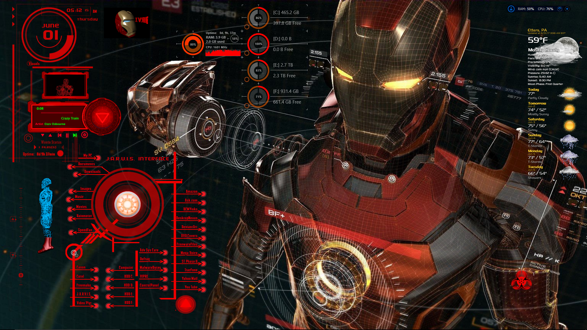 Iron Man OS 1.2.2 by oldcrow10