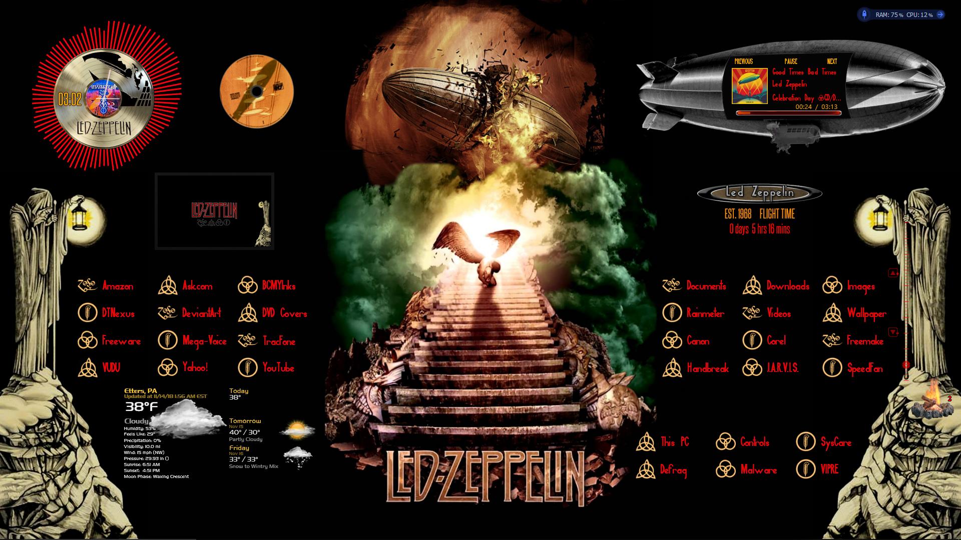 Led Zeppelin 1 0 By Oldcrow10 On Deviantart