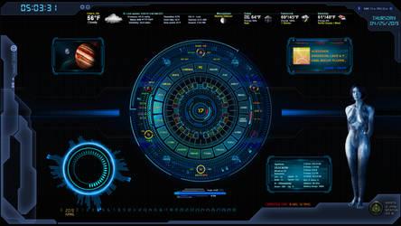 Cortana UI 1.1 by oldcrow10