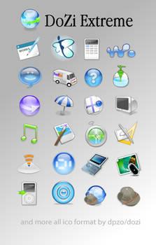 Dozi Extreme icons