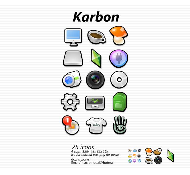 Personaliza tu escritorio mega post!! Karbon_1_0_by_dpzo