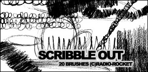 Scribble Brushes by radio-rocket