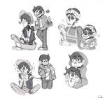 Coco-more Sketches