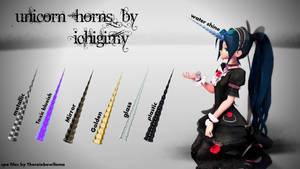Unicorn Horns DL