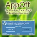 AppOff - Configure Application Compatibility Check