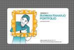 My 2nd Flash Portfolio 2006 by budimanraharjo