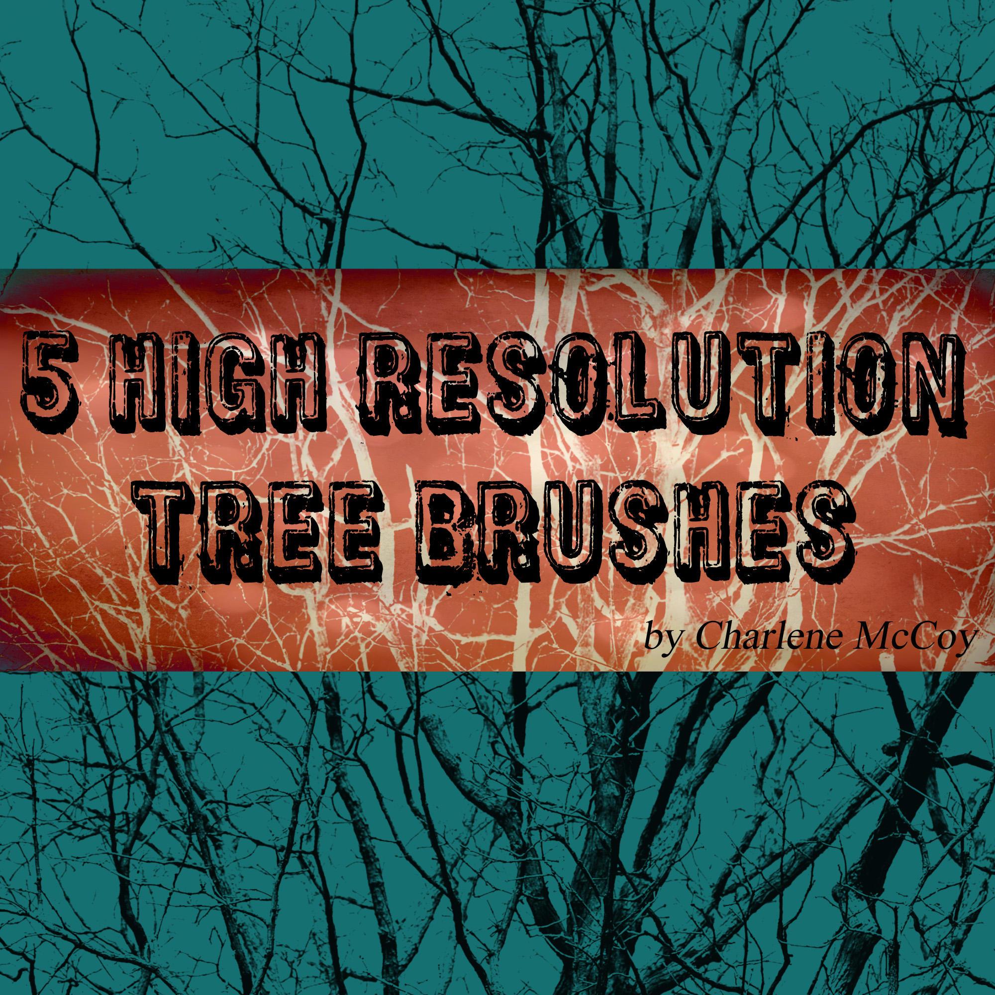 Photoshop Tree Brushes by cmccoyphoto
