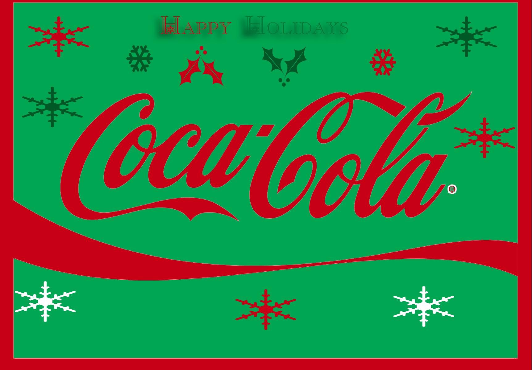 Coca-Cola Christmas Logo