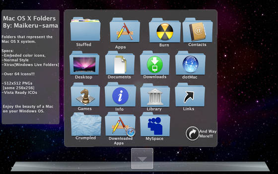 Mac OS X Folders