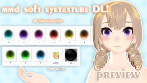 .:MMD soft EYE Texture DL!:. by Raito-light