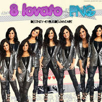 LOVATO PNG by destinity-cyrus