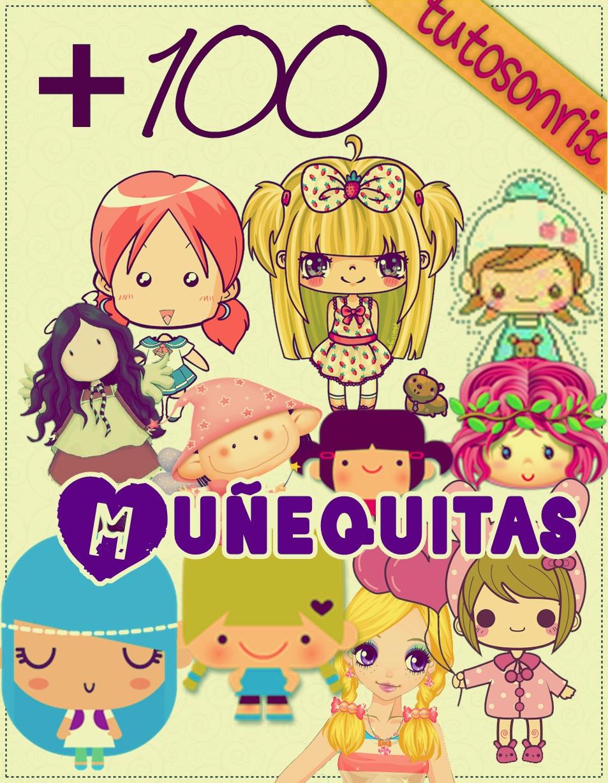 Mas de 100 Munequitas PNG by a-Sonrix
