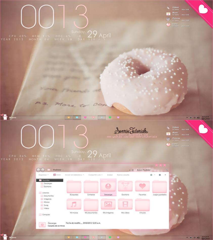 DeskPink ~ download by a-Sonrix