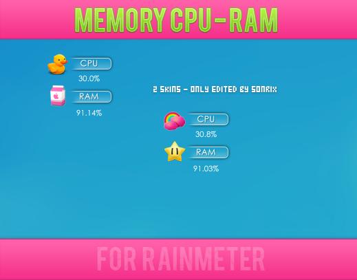2 Skin's Memory CPU - RAM (editado por mi) by a-Sonrix