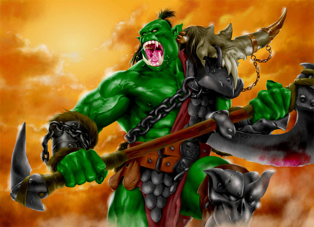 world of warcraft wallpaper orc. world of warcraft wallpaper