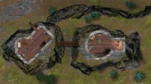Sundered Towers - A Skyrim Battlemap by Koriyen