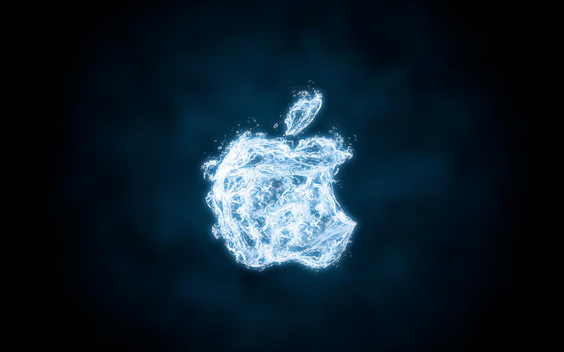 Apple Water Wallpaper by 95niltar
