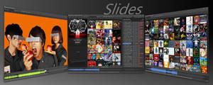 Slides 1.9.4 foobar2000 Skin by Sub13Vegan