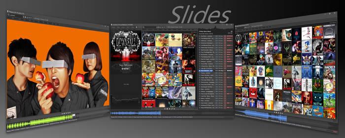 Slides 1.9.4 foobar2000 Skin
