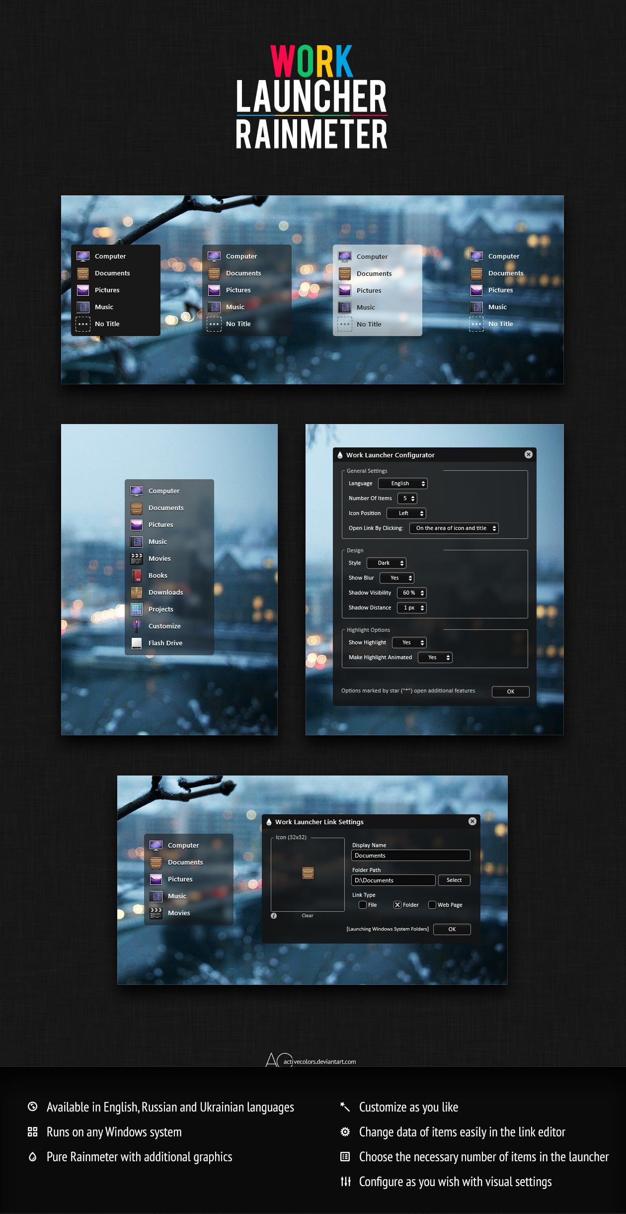 Work Launcher [1.3]