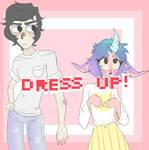 Dress Up Avi and Mercedes