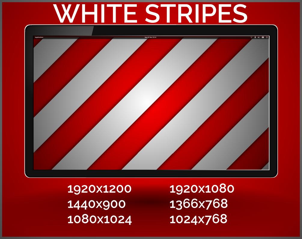 White stripes by purvaldur