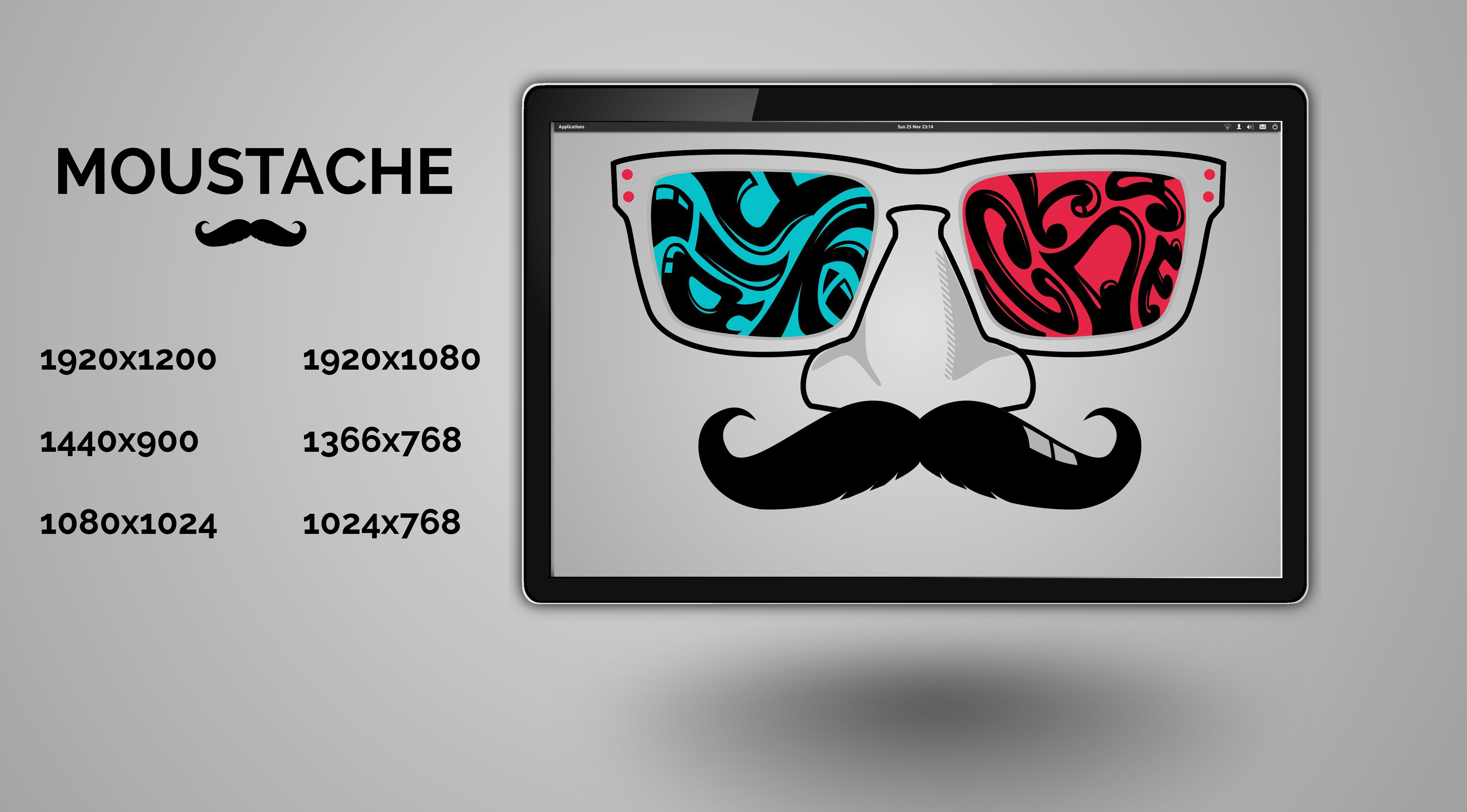 Moustache by purvaldur