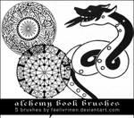 Alchemy Book Brushes