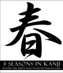 Kanji Seasons Brushes