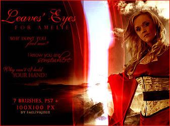 For Amelie Lyrics Brushes by faelivrinen-stock