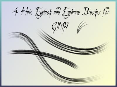 eyelash and hair brush by el-L-eN