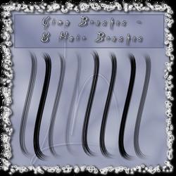 GIMP - 8 Hairbrushes
