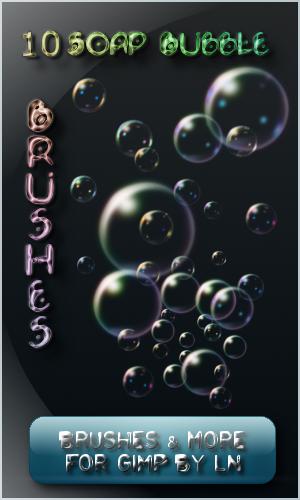 10 Soapy Gimp Bubble Brushes by el-L-eN