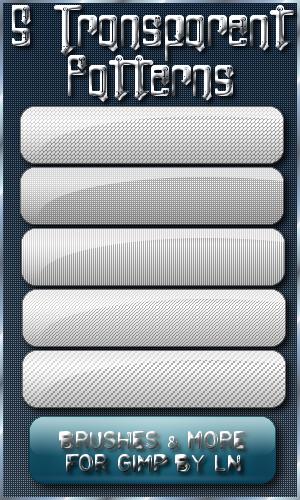 5 Patterns For GIMP- Set 2 by el-L-eN