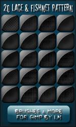 20 Lace and Fishnet Patterns by el-L-eN