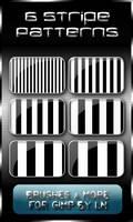 6 Stripey Patterns for GIMP