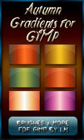 6 Autumn Gradients for GIMP