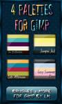 GIMP Palettes no.13-16
