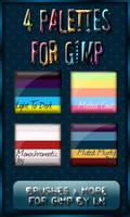 GIMP Palettes no.17-20 by el-L-eN