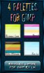 GIMP Palettes no.25-28
