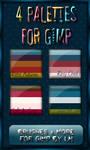 GIMP Palettes no.29-32