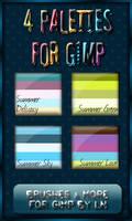 GIMP Palettes no.33-36 by el-L-eN