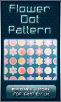 6 GIMP Flower Dot Patterns by el-L-eN