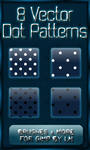 8 GIMP Vector Dot Patterns XL