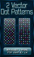 2 GIMP Dot Vector Patterns