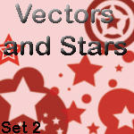 Star Vector Brush Set 2 by rogueXunited