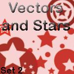 Star Vector Brush Set 2 by rogueXunited