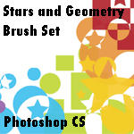 Stars and Geometry Brushes by rogueXunited