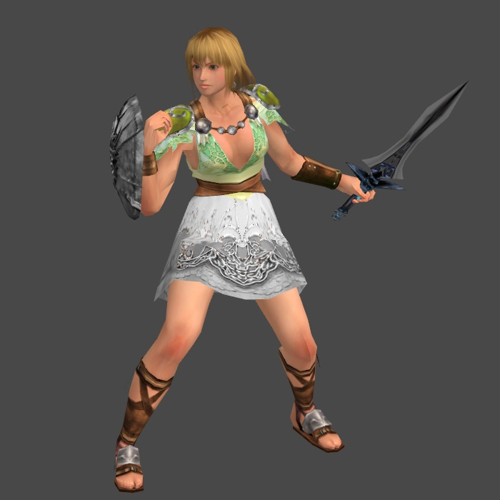 Warriors Orochi 4 Soul Calibur: SCL Sophitia(alt) Static Obj By Wadamen On DeviantArt