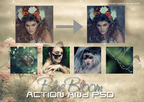 Action and PSD Blue Blood